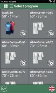 จอควบคุมการทำงาน Wavy เครื่องซักอบผ้าหยอดเหรียญ GRANDIMPIANTI Wavy เครื่องซักอบผ้าอุตสาหกรรมแบบหยอดเหรียญ สำหรับ ร้านสะดวกซัก - 3
