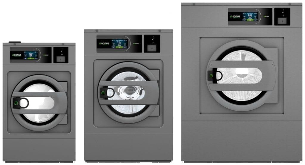 เครื่องซักผ้าหยอดเหรียญ DOMUS Clean&Go เครื่องซักผ้าอุตสาหกรรมแบบหยอดเหรียญ สำหรับ ร้านสะดวกซัก