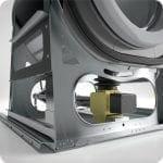 เครื่องซักผ้าหยอดเหรียญ GRANDIMPIANTI Wavy เครื่องซักผ้าอุตสาหกรรมแบบหยอดเหรียญ สำหรับ ร้านสะดวกซัก - 3