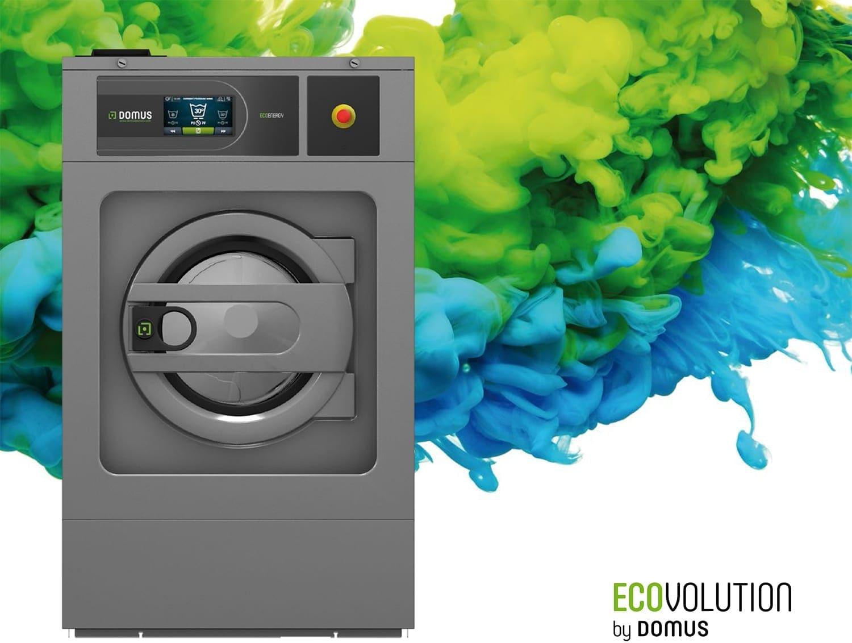 เครื่องซักผ้าอุตสาหกรรม DOMUS DLS-DMS-DHS เหมาะกับโรงแรมต่างๆ