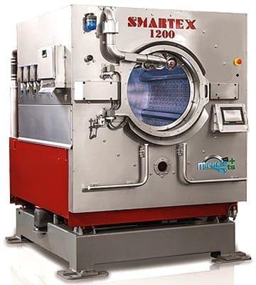 เครื่องซักผ้าอุตสาหกรรม SMARTEX MIRACLE 120-135-150 ประหยัดน้ำ-เคมี-พลังงานความร้อน