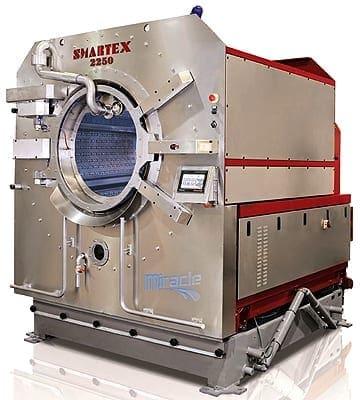 เครื่องซักผ้าอุตสาหกรรม SMARTEX MIRACLE 225 ประหยัดน้ำ-เคมี-พลังงานความร้อน