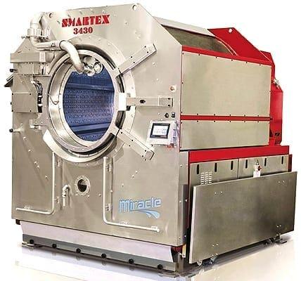เครื่องซักผ้าอุตสาหกรรม SMARTEX MIRACLE 340-500 ประหยัดน้ำ-เคมี-พลังงานความร้อน