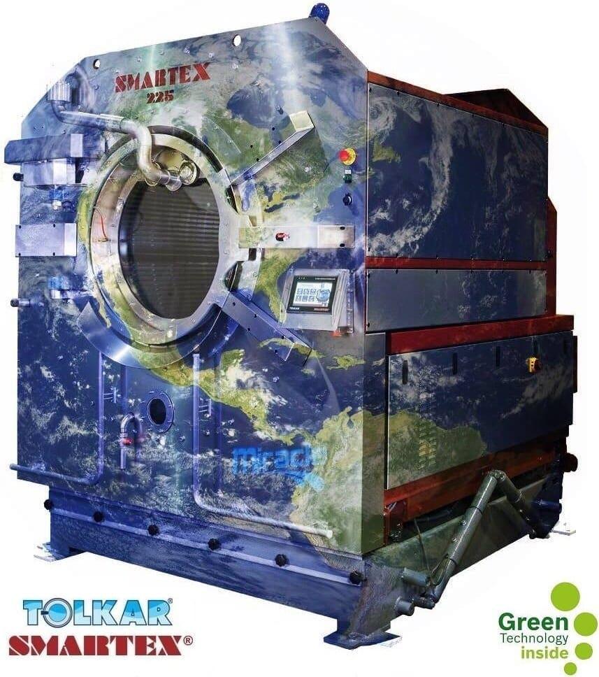 เครื่องซักผ้าอุตสาหกรรม SMARTEX MIRACLE - Save The World