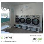 เครื่องซักอบผ้าหยอดเหรียญ DOMUS Clean&Go เครื่องซักอบผ้าอุตสาหกรรมแบบหยอดเหรียญ สำหรับ ร้านสะดวกซัก ลูกค้าที่ต่างประเทศ - 1