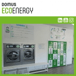 เครื่องซักอบผ้าหยอดเหรียญ DOMUS Clean&Go เครื่องซักอบผ้าอุตสาหกรรมแบบหยอดเหรียญ สำหรับ ร้านสะดวกซัก ลูกค้าที่ต่างประเทศ - 2