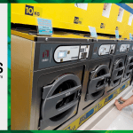 เครื่องซักอบผ้าหยอดเหรียญ DOMUS Clean&Go เครื่องซักอบผ้าอุตสาหกรรมแบบหยอดเหรียญ สำหรับ ร้านสะดวกซัก ลูกค้าที่ต่างประเทศ - 20