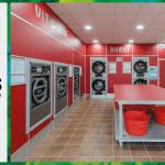 เครื่องซักอบผ้าหยอดเหรียญ DOMUS Clean&Go เครื่องซักอบผ้าอุตสาหกรรมแบบหยอดเหรียญ สำหรับ ร้านสะดวกซัก ลูกค้าที่ต่างประเทศ - 22