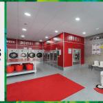 เครื่องซักอบผ้าหยอดเหรียญ DOMUS Clean&Go เครื่องซักอบผ้าอุตสาหกรรมแบบหยอดเหรียญ สำหรับ ร้านสะดวกซัก ลูกค้าที่ต่างประเทศ - 24