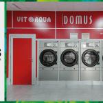 เครื่องซักอบผ้าหยอดเหรียญ DOMUS Clean&Go เครื่องซักอบผ้าอุตสาหกรรมแบบหยอดเหรียญ สำหรับ ร้านสะดวกซัก ลูกค้าที่ต่างประเทศ - 25