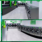 เครื่องซักอบผ้าหยอดเหรียญ DOMUS Clean&Go เครื่องซักอบผ้าอุตสาหกรรมแบบหยอดเหรียญ สำหรับ ร้านสะดวกซัก ลูกค้าที่ต่างประเทศ - 4