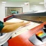 เครื่องรีดผ้าอุตสาหกรรม TOLKAR VELA แบบลูกกลิ้ง ลูกค้าที่ต่างประเทศ