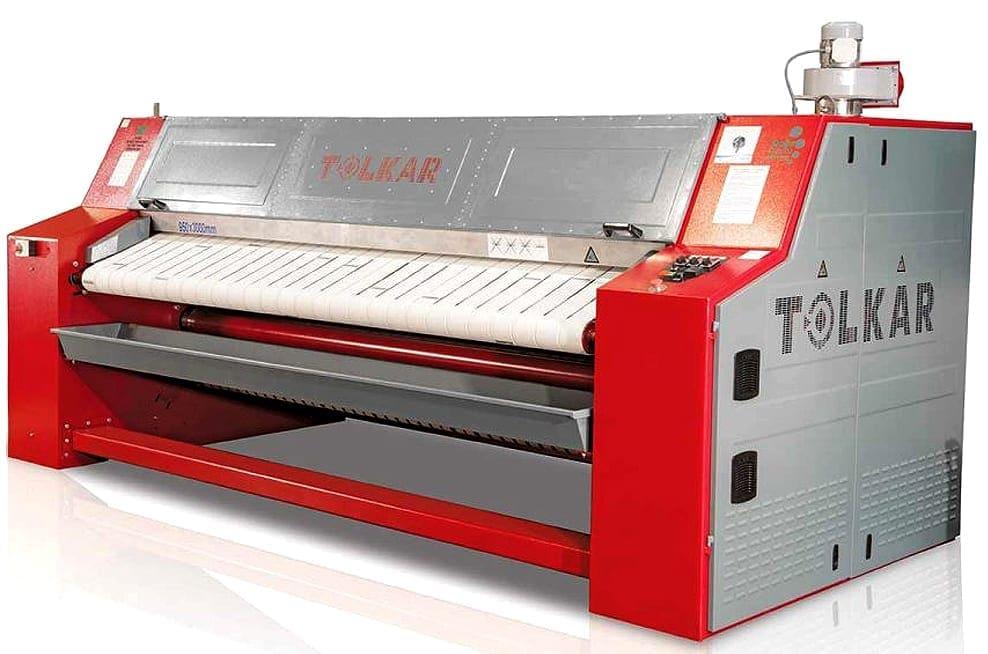 เครื่องรีดผ้าอุตสาหกรรม TOLKAR VELA 750-1200