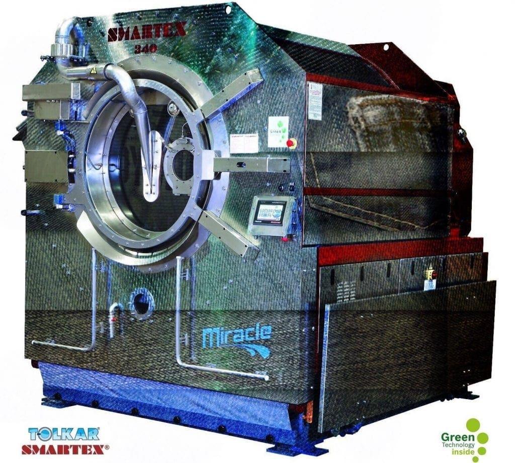 เครื่องซักผ้าอุตสาหกรรม SMARTEX MIRACLE สำหรับโรงงานการ์เม้นท์