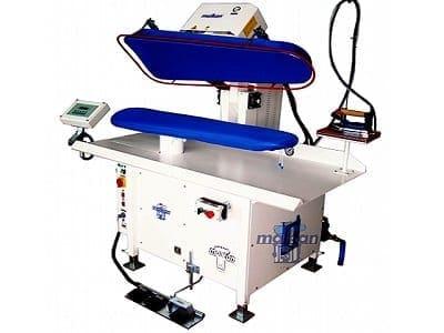 เครื่องเพรสผ้า MALKAN UPP1 เครื่องปั๊มผ้า สำหรับงานโรงแรม โรงซักรีด โรงพยาบาล ร้านซักรีด