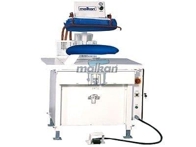 เครื่องเพรสผ้า MALKAN UPP3 เครื่องปั๊มผ้า สำหรับงานโรงแรม โรงซักรีด โรงพยาบาล ร้านซักรีด