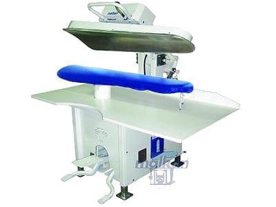 เครื่องเพรสผ้า MALKAN CP1 เครื่องปั๊มผ้า สำหรับงานโรงแรม โรงซักรีด โรงพยาบาล ร้านซักรีด