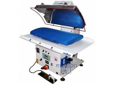 เครื่องเพรสผ้า MALKAN CPP6 เครื่องปั๊มผ้า สำหรับงานโรงแรม โรงซักรีด โรงพยาบาล ร้านซักรีด