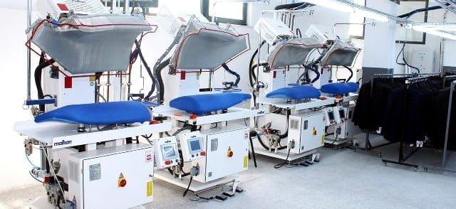 เครื่องเพรสผ้า MALKAN เครื่องปั๊มผ้า สำหรับงานโรงแรม โรงซักรีด โรงพยาบาล ร้านซักรีด - 1