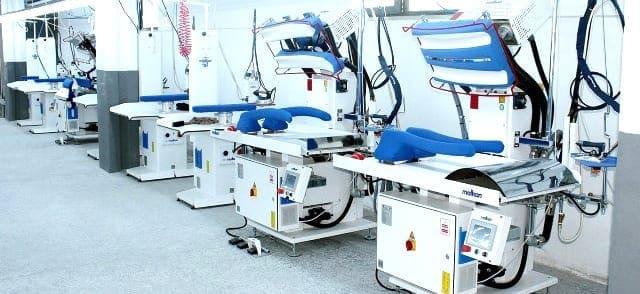 เครื่องเพรสผ้า MALKAN เครื่องปั๊มผ้า สำหรับงานโรงแรม โรงซักรีด โรงพยาบาล ร้านซักรีด - 2