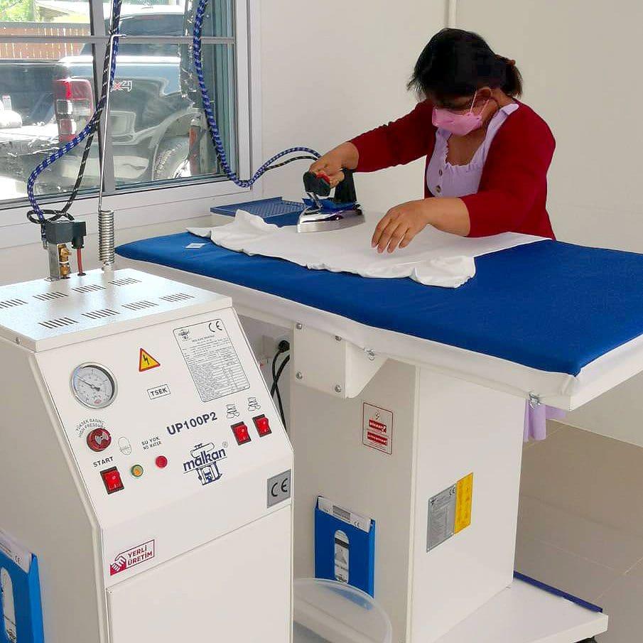 โต๊ะรีดผ้าแบบลมดูด MALKAN EKO102K - 2