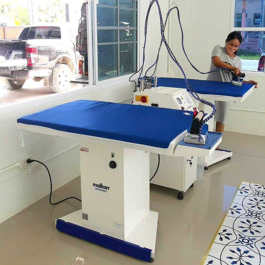 โต๊ะรีดผ้าแบบลมดูด MALKAN EKO102K - 3
