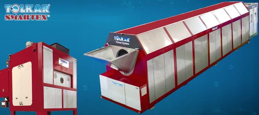 เครื่องซักผ้าแบบอุโมงค์ TOLKAR Tunnel System - heading