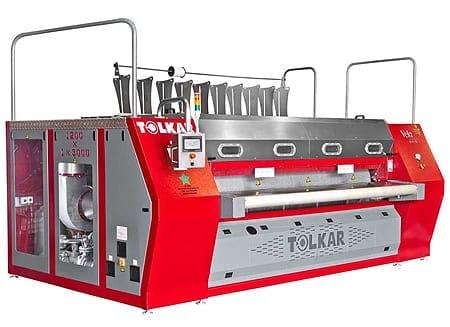 เครื่องรีดผ้าอุตสาหกรรมแบบกระทะTOLKAR VELA CHI