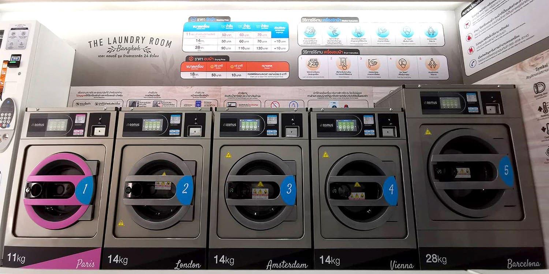 เครื่องซักอบผ้าหยอดเหรียญ DOMUS Clean&Go - ร้าน The Laundry Room Bangkok - 5