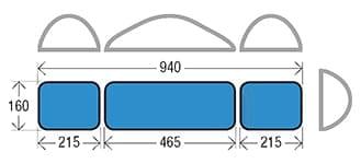 เครื่องเพรสผ้าแบบเตาด้าน GHIDINI P88 CP Laundry Press - spec