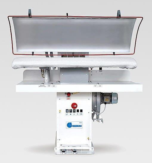เครื่องเพรสผ้าแบบเตาด้าน GHIDINI P88 RTL Laundry Press