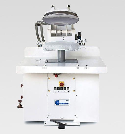 เครื่องเพรสผ้าแบบเตาด้าน GHIDINI P88 V1L Laundry Press