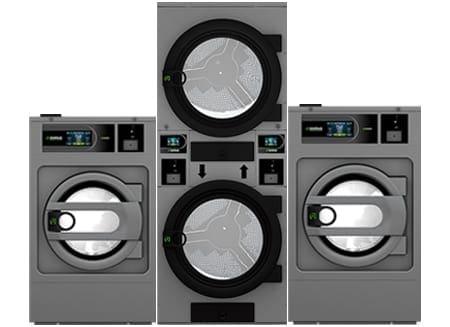 เครื่องซักผ้าอุตสาหกรรมหยอดเหรียญ DOMUS Clean&Go
