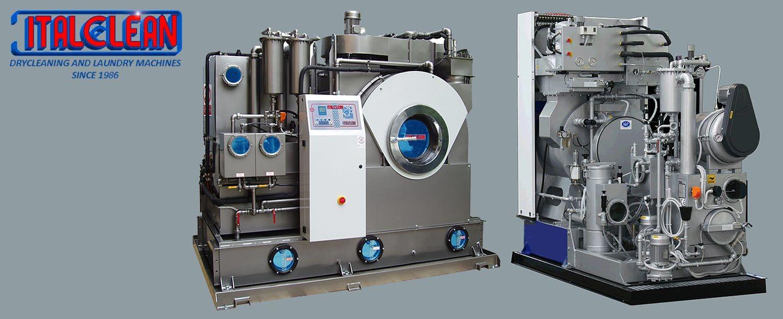 เครื่องซักแห้งอุตสาหกรรม ITALCLEAN LIBERTY - heading