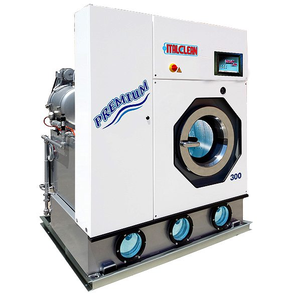 เครื่องซักแห้งอุตสาหกรรม ITALCLEAN PREMIUM 11-34kgs