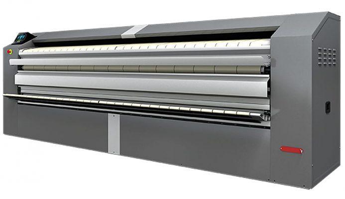 เครื่องรีดผ้าอุตสาหกรรม CM 650 พร้อมระบบพับผ้า
