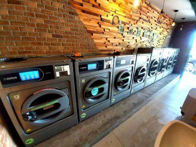 เครื่องซักอบผ้าหยอดเหรียญ DOMUS Clean&Go - ร้าน ซักทีเหอะ - 2