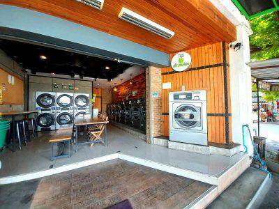 เครื่องซักอบผ้าหยอดเหรียญ DOMUS Clean&Go - ร้าน ซักทีเหอะ - 6