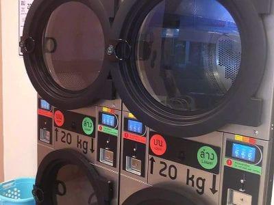 เครื่องซักอบผ้าหยอดเหรียญ DOMUS Clean&Go - ร้าน ซักอบ 24ชม! - 10