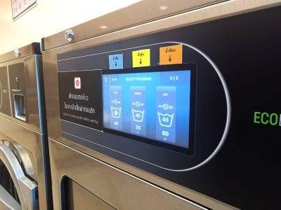 เครื่องซักอบผ้าหยอดเหรียญ DOMUS Clean&Go - ร้าน ซักอบ 24ชม! - 6