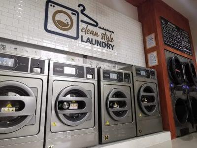 เครื่องซักอบผ้าหยอดเหรียญ DOMUS Clean&Go - ร้าน Clean Style Laundry - 2