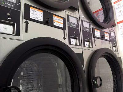 เครื่องซักอบผ้าหยอดเหรียญ DOMUS Clean&Go - ร้าน The Laundry Room Bangkok - 12