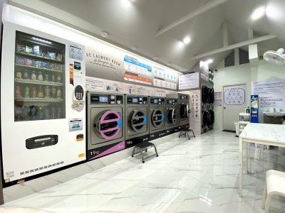 เครื่องซักอบผ้าหยอดเหรียญ DOMUS Clean&Go - ร้าน The Laundry Room Bangkok - 19