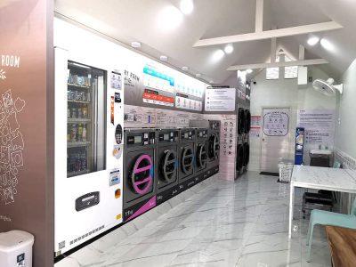 เครื่องซักอบผ้าหยอดเหรียญ DOMUS Clean&Go - ร้าน The Laundry Room Bangkok - 2