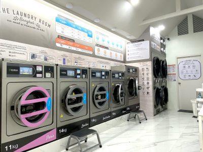 เครื่องซักอบผ้าหยอดเหรียญ DOMUS Clean&Go - ร้าน The Laundry Room Bangkok - 20