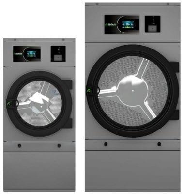เครื่องอบผ้าหยอดเหรียญ DOMUS Clean&Go เครื่องซักผ้าอุตสาหกรรมแบบหยอดเหรียญ สำหรับ ร้านสะดวกซัก