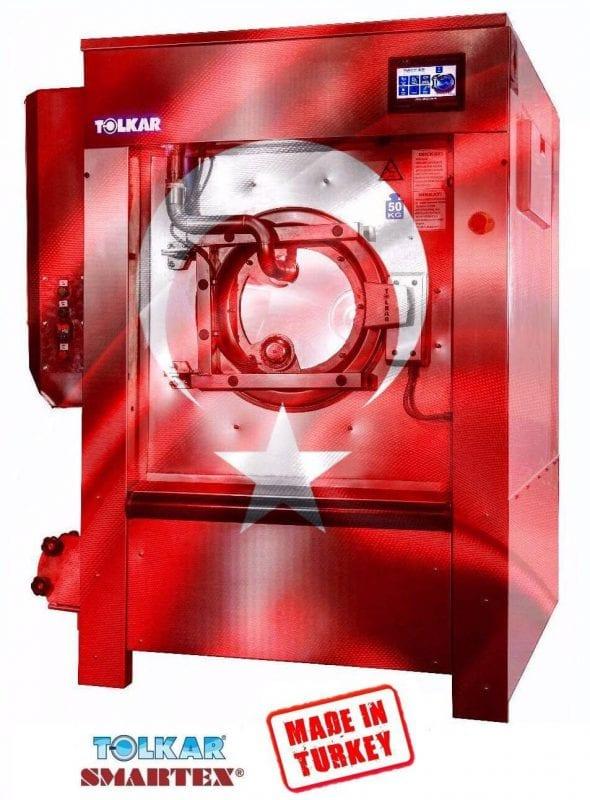 เครื่องซักผ้าอุตสาหกรรม TOLKAR MIRACLE ประหยัดน้ำ-เคมี-ความร้อน