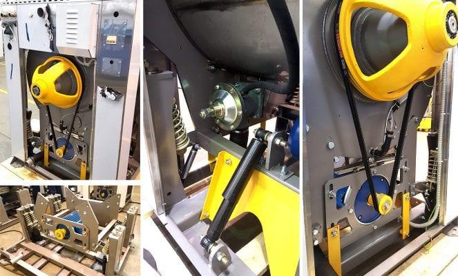 เครื่องซักสลัดผ้าอุตสาหกรรม VYAZMA VEGA - 1