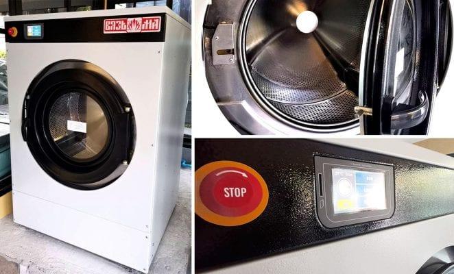 เครื่องซักสลัดผ้าอุตสาหกรรม VYAZMA VEGA - 4