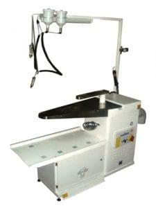 โต๊ะสป็อตติ้ง MALKAN UP110V สำหรับงานโรงแรม โรงซักรีด โรงพยาบาล ร้านซักรีด